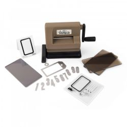 662535 Sizzix Sidekick Starter Kit (Brown & Black) featuring Tim Holtz designs